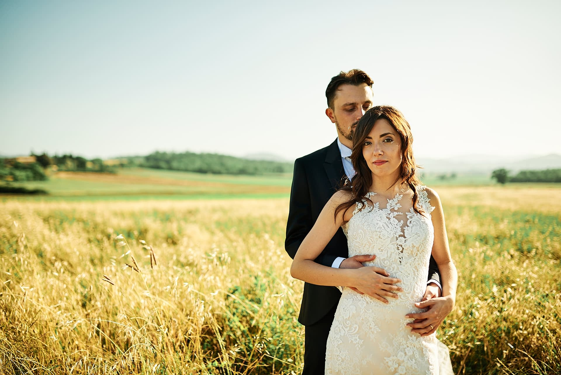 Matrimonio Casole Primo Piano Colle